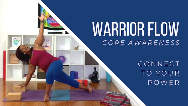 Warrior Flow: Core Awareness
