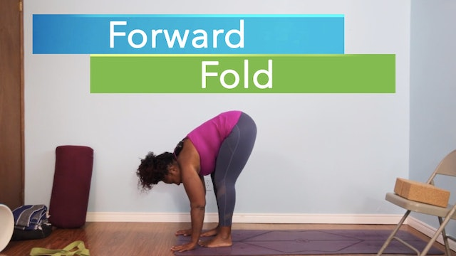 Forward Fold / Uttanasana