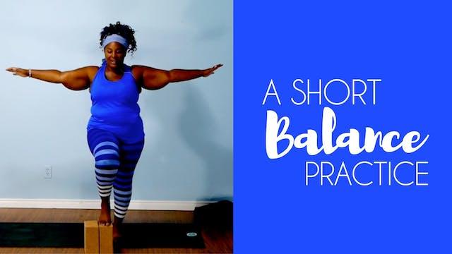 A Short Balance Practice