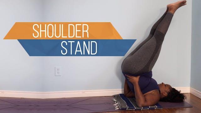 Shoulder Stand / Sarvangasana