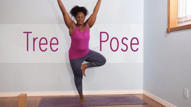 Tree Pose / Vrksasana