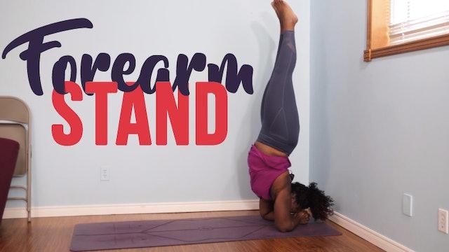Forearm Stand / Pincha Mayurasana