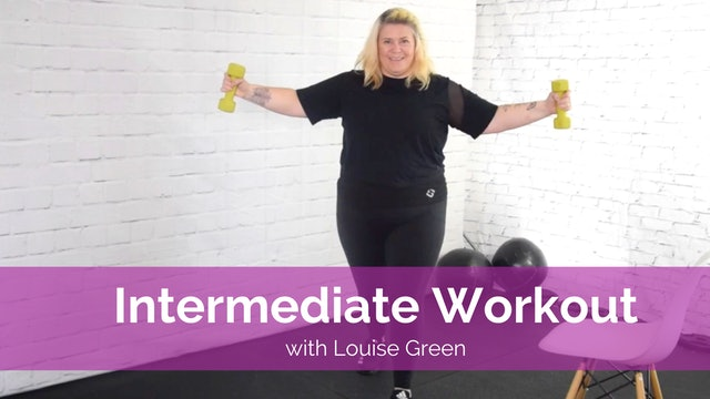 Intermediate Workout with Louise Green