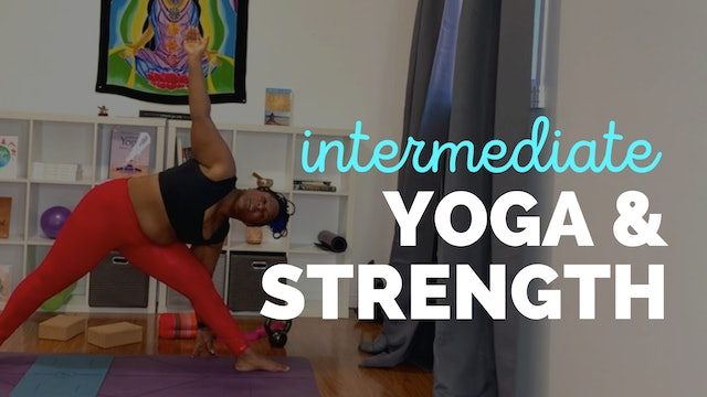 Yoga and Strength: A 23-Minute Intermediate Practice