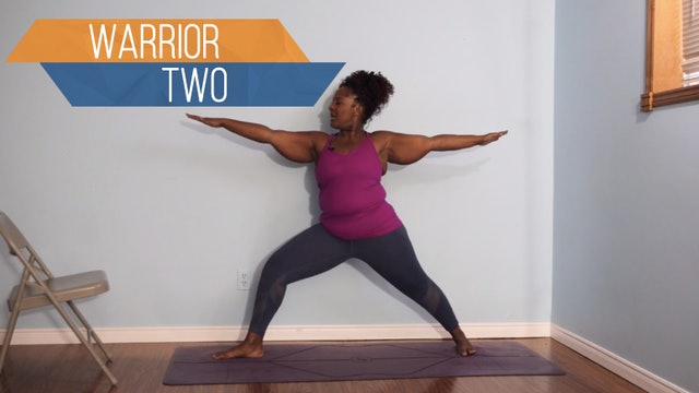 Warrior 2 / Virabhadrasana 2