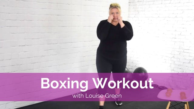 Boxing Workout with Louise Green