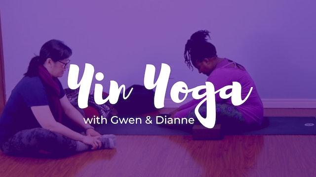 Yin Yoga with Gwen & Dianne