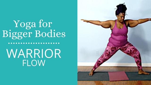 Yoga for Bigger Bodies:  Goddess Flow