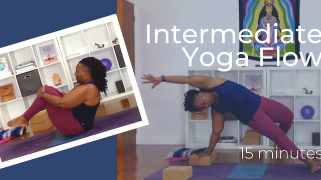 Intermediate Yoga Flow