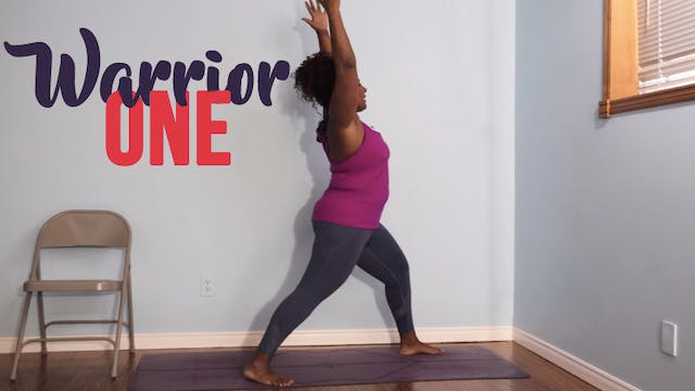 Warrior 1 / Virabhadrasana 1