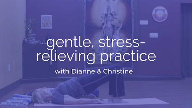 30-Minute Gentle, Stress-Relieving Practice with Dianne & Christine