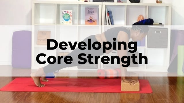 Developing Core Strength