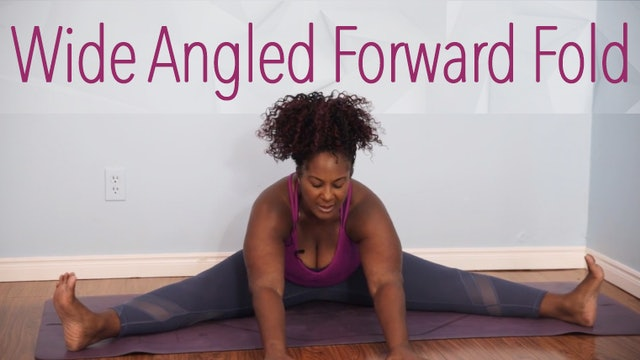 Wide-Angled Seated Forward Fold / Upavistha Konasana