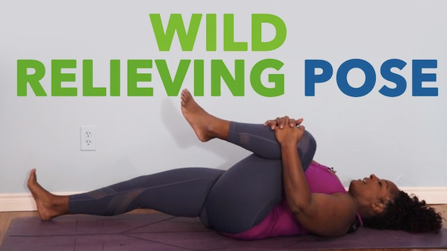 Wind Relieving Pose / Pawanmuktasana