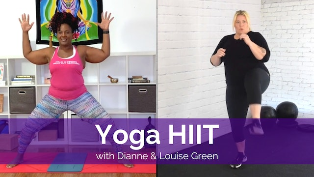 Yoga HIIT with Dianne and Louise