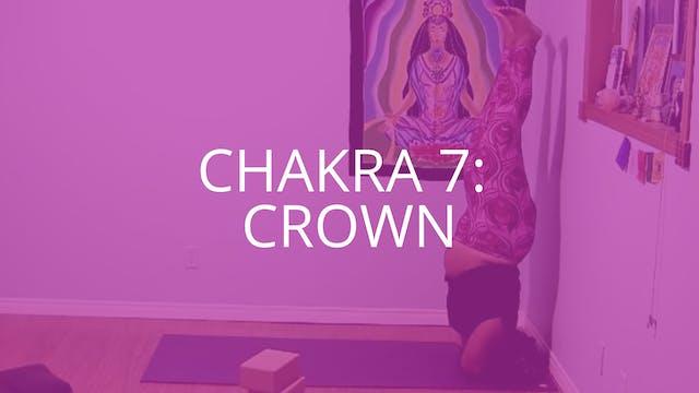Chakra 7: Crown