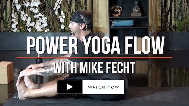 *BONUS* 45 Minute Power Flow - with Mike Fecht