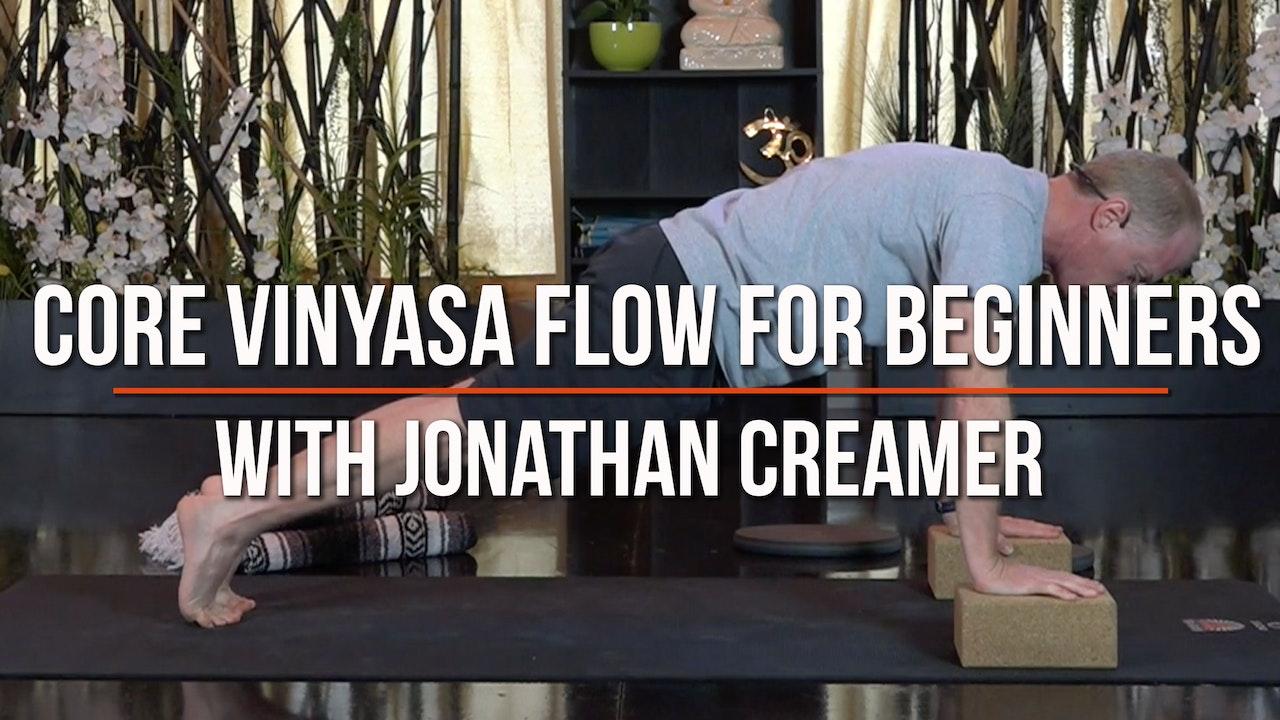 Core Vinyasa Yoga Flow For Beginners