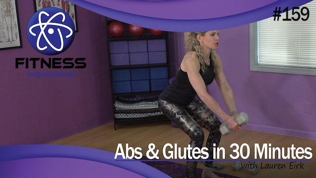 Video 159 | Abs & Glutes (30 Minute Workout) with Lauren Eirk