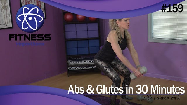 Video 159 | Abs & Glutes (30 Minute W...