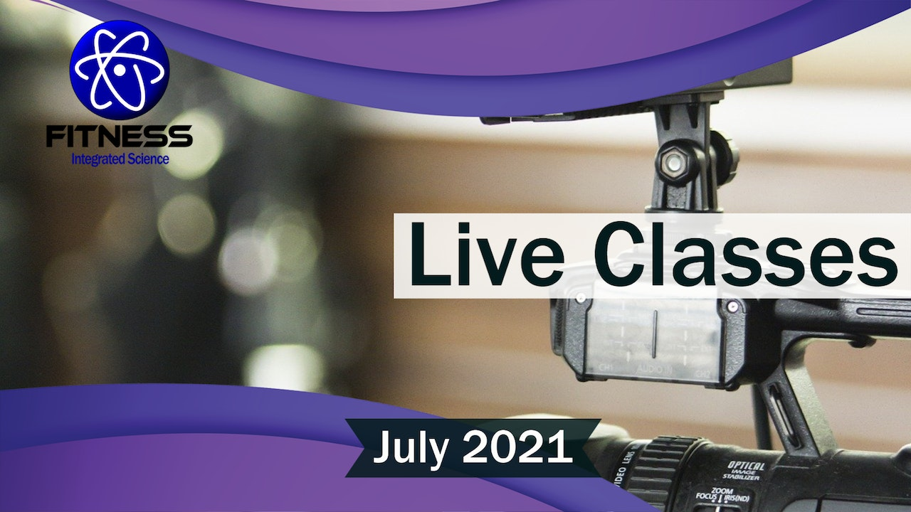Recorded Live Events July 2021