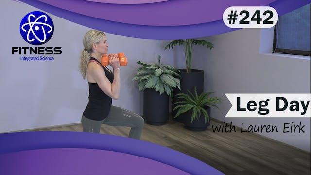 Video 242 | Leg Day (45 Minute Workou...