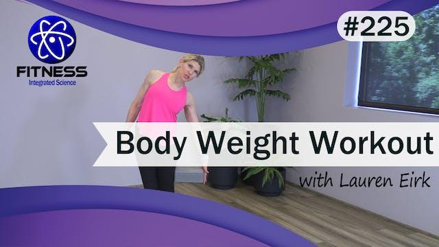 Video 225 | Bodyweight Workout (30 mi...