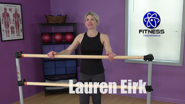 Video 187 | Fitness Barre Blend (30 Minute Workout) with Lauren Eirk