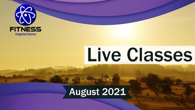 Recorded Live Events August 2021