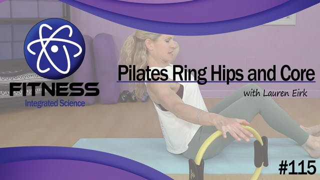 Video 115 | Pilates Ring Hips and Cor...