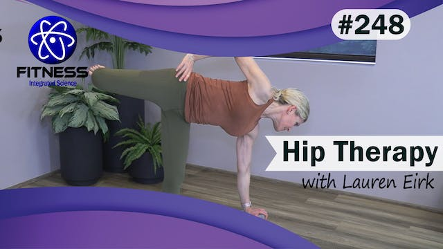 Video 248 | Yoga Therapy for Hips (30...
