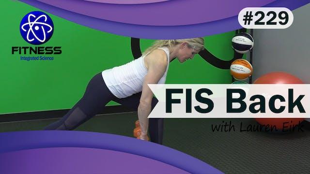 Video 229 | FIS Back Workout (30 Minu...