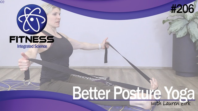 Video 206   Better Posture with Yoga (50 Minute Workout) with Lauren Eirk
