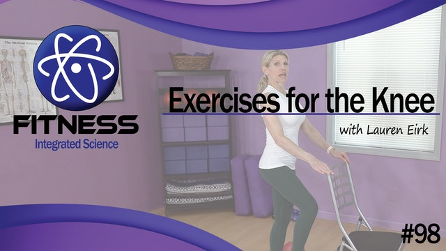 Video 098   Exercises for Knee Therapy (30 Minute Workout) with Lauren Eirk