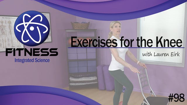 Video 098 | Exercises for Knee Therap...