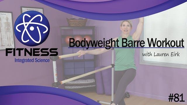 Video 081 | Bodyweight Barre Workout ...