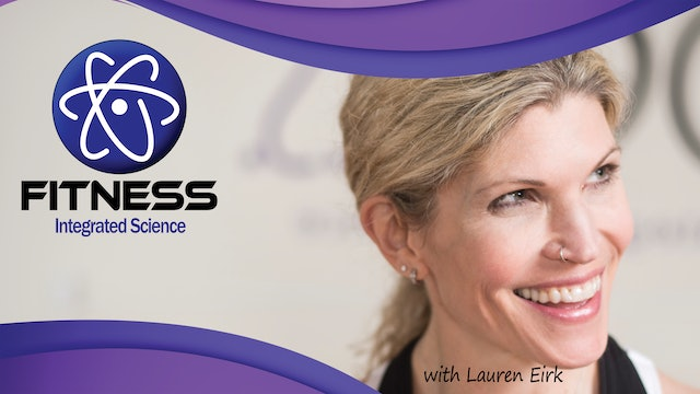 Recorded | Live Event with Lauren Eirk  June 10th at 9:30am | Barre Fusion