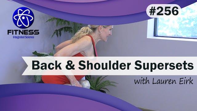 Video 256 | Back and Shoulder Superse...