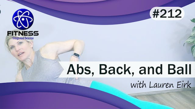 Video 212 | Abs, Back, and Ball (40 M...