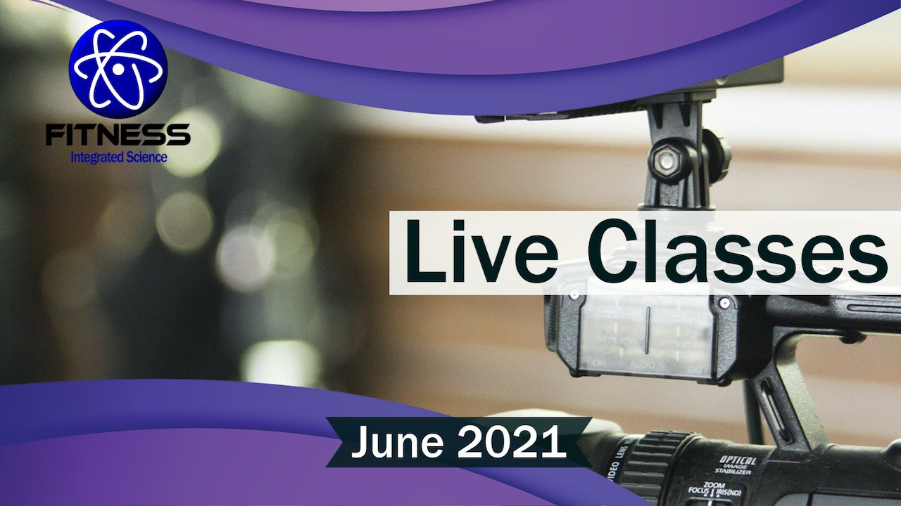Recorded Live Event June 2021