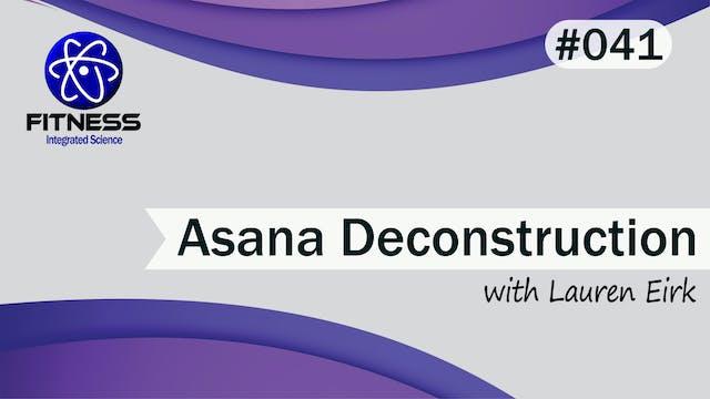 Video 041 | Asana Deconstruction - Ar...