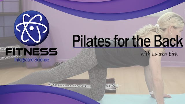 Video 064 | Pilates for the Back with...