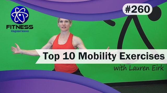 Video 260 | Top Ten Mobility Exercises (30 Minutes) with Lauren Eirk