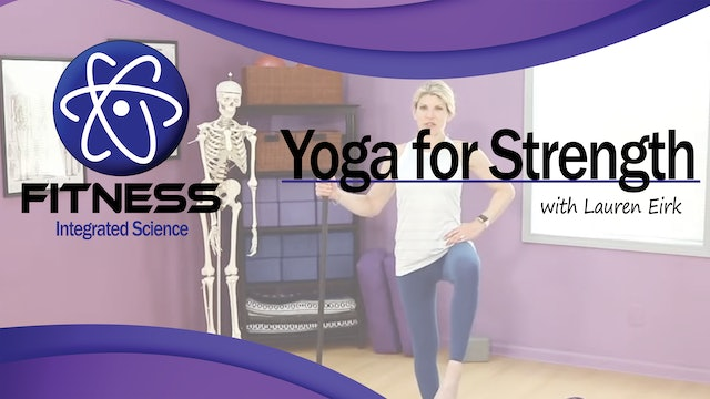 Video 019 | Yoga for Strength with Lauren (60 Minute Workout)