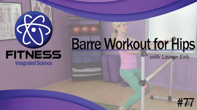 Video 077 | Standing Barre Workout fo...