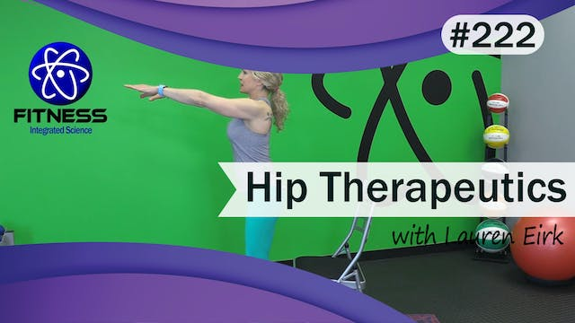 Video 222 | Therapeutic Workout for H...