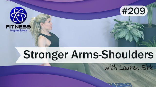 Video 209 | Stronger Arms and Shoulde...