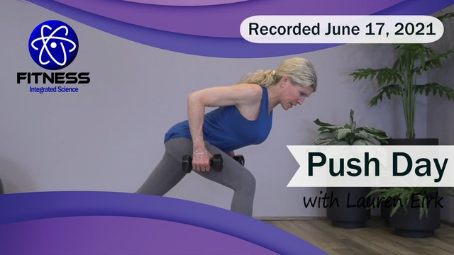 Recorded | Live Event with Lauren Eirk  June 17th at 9:30am | Push Day
