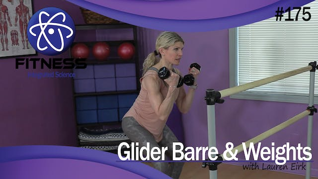 Video 175   Glider Barre with Weights...