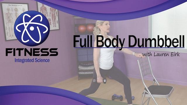 Video 069 | Full Body Dumbbell Workout for Beginners with Lauren Eirk
